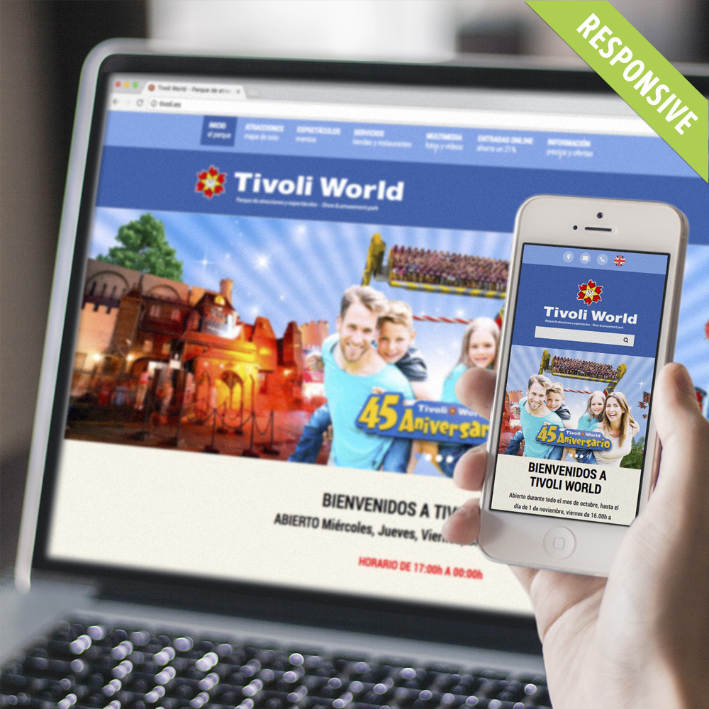 Tivoli World Website