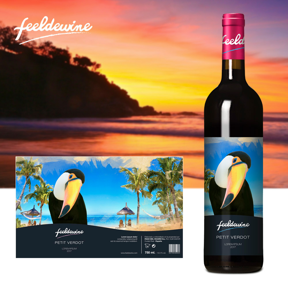 packaging vino Feeldewine